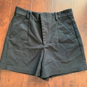 High waisted nice black shorts